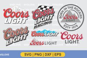 coors light svg bundle
