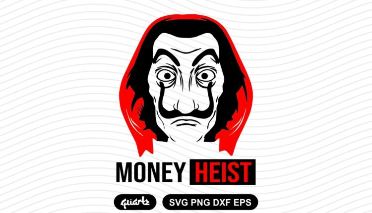money heist svg Home