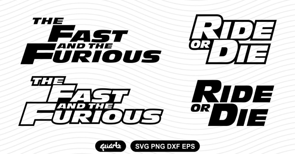 the fast and the furious svg