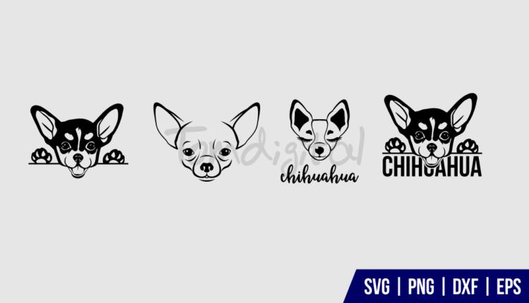 Chihuahua SVG Cut File Bundle