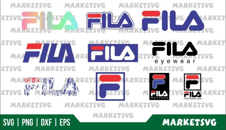 Fila Logo SVG Bundle