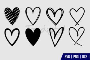 Heart SVG Bundle