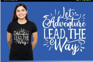 Let Adventure Lead the Way Svg