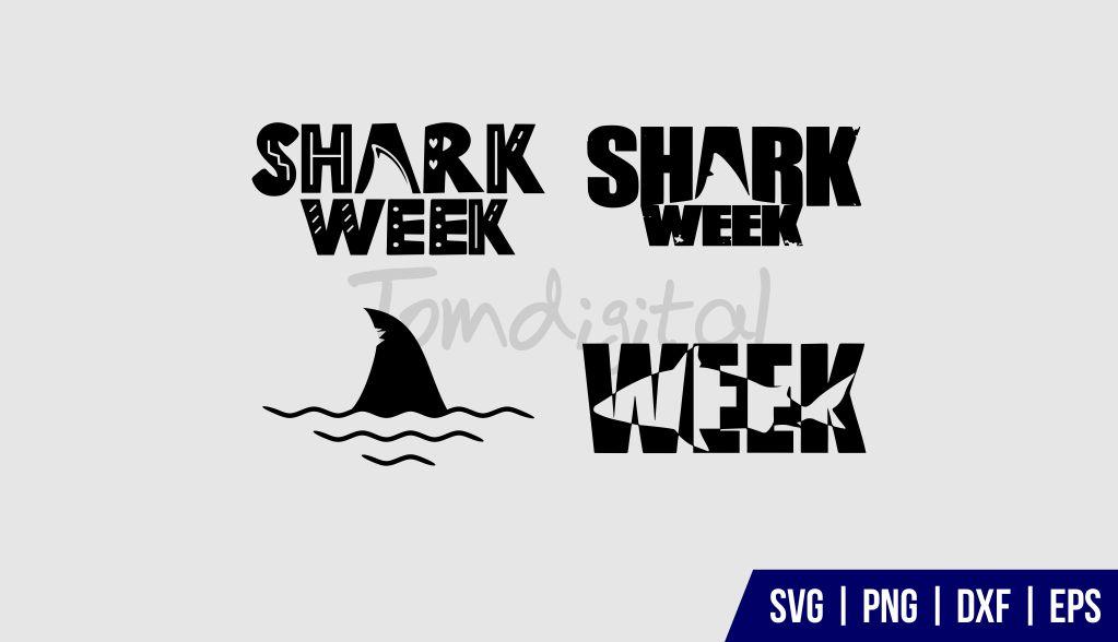 Shark Week SVG Bundle