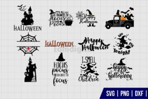 Hocus Pocus Halloween SVG