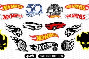 Hot wheels SVG bundle