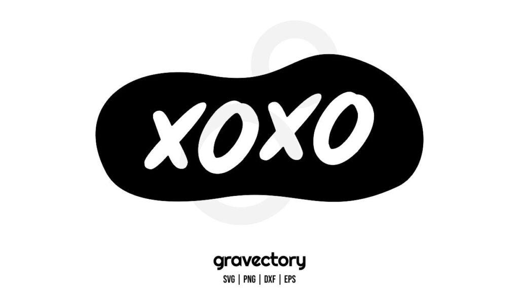 XOXO SVG CUT FILE