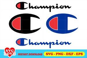 Champion Logo SVG Cut File Home Digitals