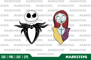 Jack And Sally SVG Home Digitals