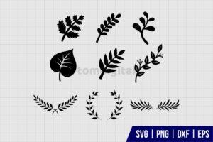 Leaves SVG