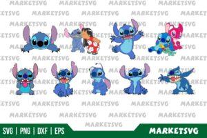 Lilo And Stitch SVG