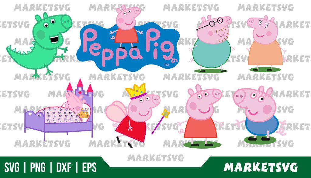 Peppa Pig SVG Bundle