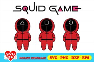 squid game vector SVG