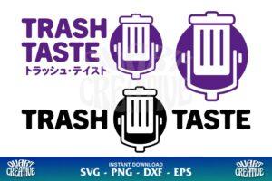 trash taste svg