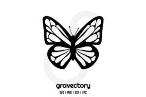 Butterflies Clipart SVG
