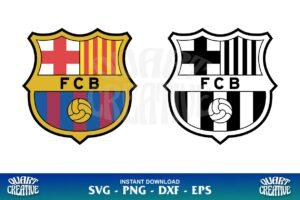 FC Barcelona Logo SVG