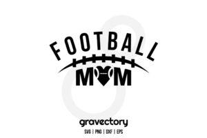 Football Mom SVG Free