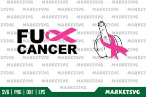 Fuck Cancer SVG