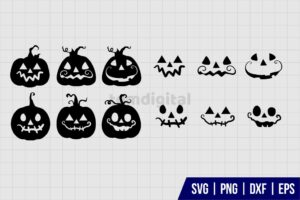 Jack O Lantern SVG Bundle