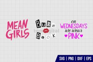 Mean Girls SVG