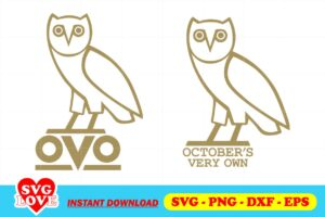 OCTOBERS VERY OWN LOGO SVG