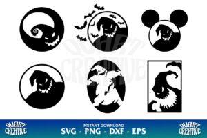 Oogie Boogie SVG Bundle