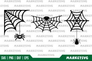 Spider Web Vector SVG