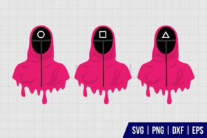Squid Game Driping SVG