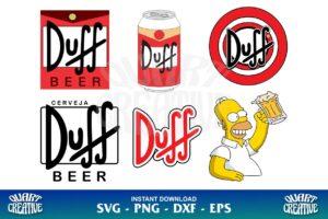 duff beer logo svg