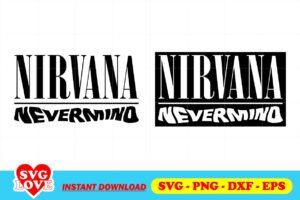 nirvana nevermind logo svg