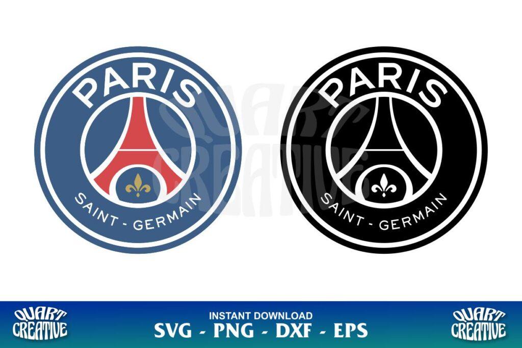 paris saint germain logo svg
