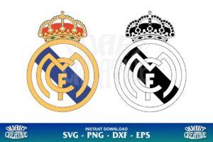real madrid logo svg