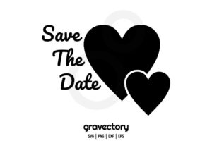 save the date svg