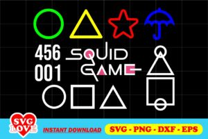 squid game symbol svg